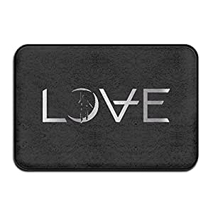 vdseht Angels & Airwaves Logo Platinum estilo antideslizante Felpudo