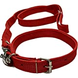 Sollar's Neck Collar Belts and Leash Set for Dog (Medium)
