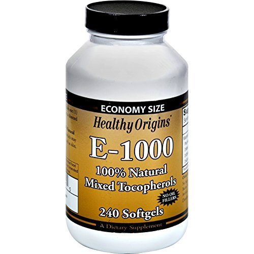 Healthy Origins Vitamin E 1000Iu 240 Sgel by Healthy Origins
