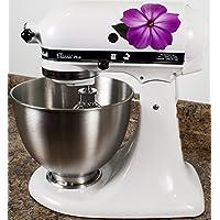 Impatiens Flower Bakery Vinyl Decals for Kitchen Mixers