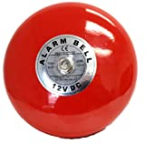 Fire Alarm Bell, 12 Vdc, 6″