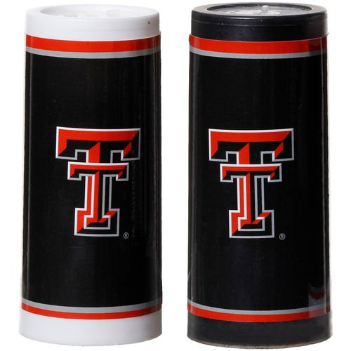 MyFanClip NCAA Texas Tech Red Raiders Salt and Pepper Set,3.75