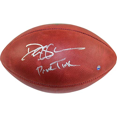 Deion Sanders Signed NFL Duke Football w/