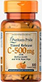 Puritan's Pride Vitamin C-500 mg with Rose Hips Time Release-100 Caplets Review