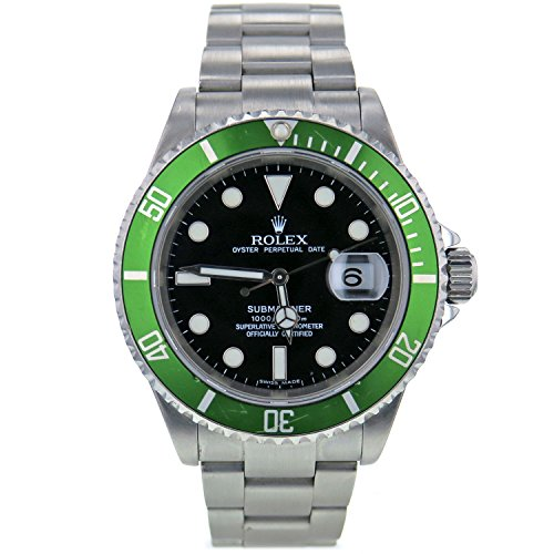 Rolex Submariner swiss-automatic mens Watch 16610 (Certified Pre-owned)