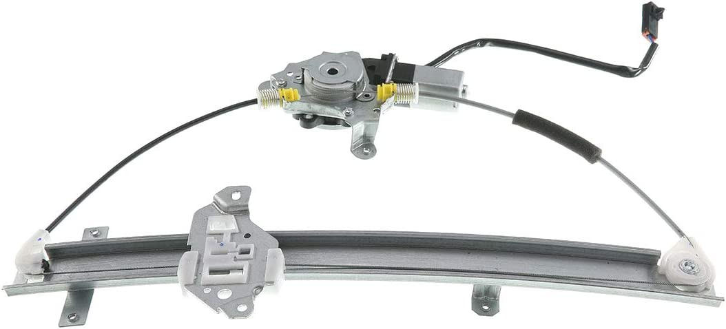A-Premium Power Window Regulator with Motor Compatible with Nissan Frontier 1998-2004 Xterra 2000-2004 Front Left Driver Side