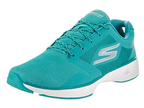 Skechers Women's Go Walk Sport – Active Teal Casual Shoe 9 Women US