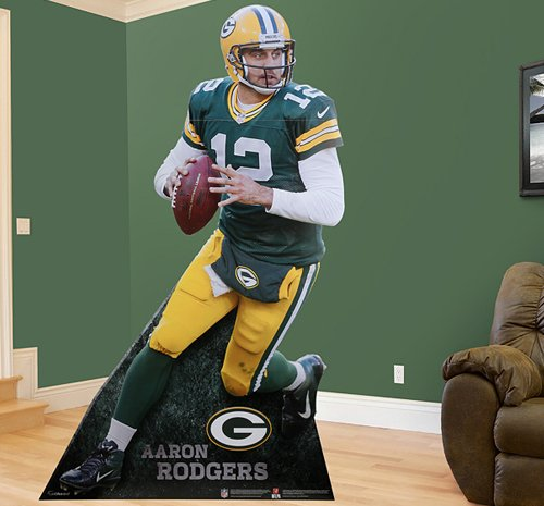 FH4900-00003 Aaron Rodgers Foamcore Stand Up