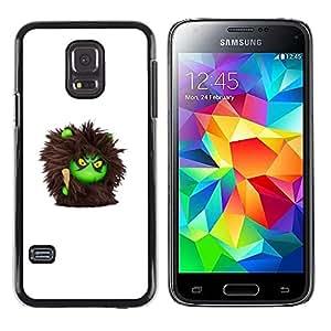 Exotic-Star ( Furry Monster Cute Cartoon Toy ) Fundas Cover Cubre Hard Case Cover para Samsung Galaxy S5 Mini / Samsung Galaxy S5 Mini Duos / SM-G800 !!!NOT S5 REGULAR!