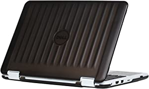 "iPearl mCover Hard Shell Case for New 2016 11.6"" Dell Inspiron 11 3168/3169 2-in-1 (Model P25T) Convertible Laptop (Black)"