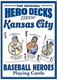 Kansas City Royals Heroes Playing Cards