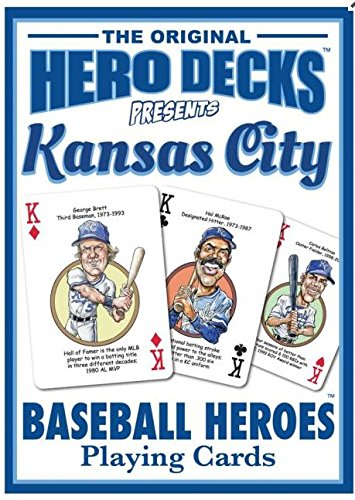 Kansas City Royals Heroes Playing Cards -