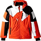 Spyder Kids  Boy's Leader Jacket (Big Kids) Brush/Black/White 18