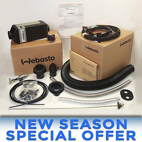 Webasto Heater Air Top 2000 ST C 24v DIESEL install kit | 4111386B