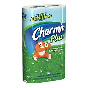 Amazon.com: Charmin Bathroom Tissue Plus a Touch of Lotion