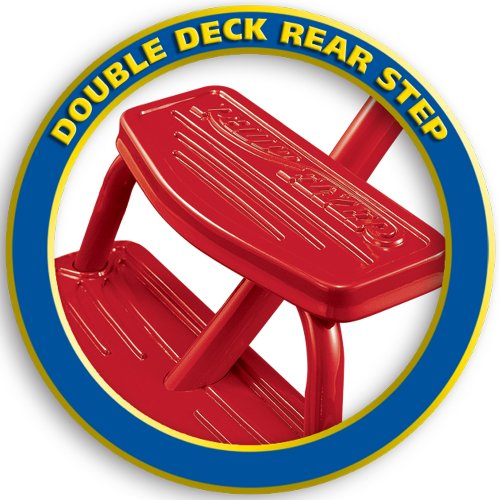 042385956503 - Radio Flyer Classic Red Dual Deck Tricycle carousel main 2