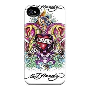 High Quality Hard Cell-phone Cases For Iphone 6 (fDZ9609juhE) Customized Stylish Ed Hardy Pattern