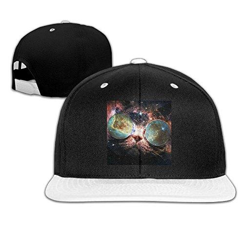 Galaxy Cat Sunglasses Universe Hiphop Cap Cotton Baseball - Cyrus Sunglasses Miley