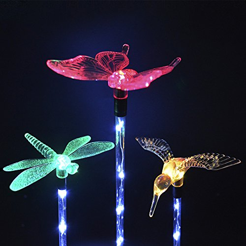 Outdoor Solar Garden Decoration Lights 3 PK