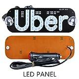 AutoEC Uber LED Sign Decor, Uber Flashing Hook on