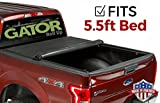 Gator ETX Soft Roll Up Truck Bed Tonneau Cover   53315   fits 15-19 Ford F-150 , 5.6' Bed   Made in the USA