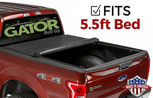 Gator ETX Soft Roll Up Truck Bed Tonneau Cover | 53315 | fits 15-19 Ford F-150 , 5.6' Bed | Made in the USA (Best Spray In Bedliner 2019)