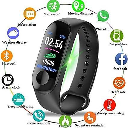 UTHDELD Smartwatch Hombres Mujeres Relojes Inteligentes Deporte Fitness Reloj Pantalla a Color Monitor de presión Arterial