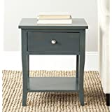 Safavieh American Homes Collection Coby Steel Teal End Table