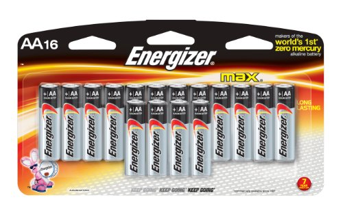 Energizer Max AA Batteries 16 Count