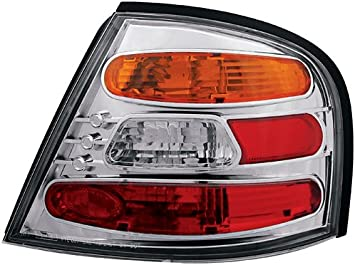 IPCW CWT-CE1002CA Crystal Eyes Crystal Amber//Clear//Red Tail Lamp Pair