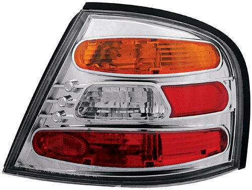 - IPCW CWT-CE1109CA Crystal Eyes Crystal Amber/Clear/Red Tail Lamp - Pair