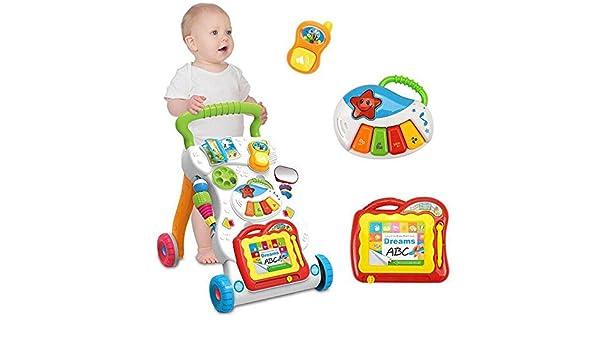 Rainbow Fox Nuevo Juguetes Andador para formación Bebés caminar y ...
