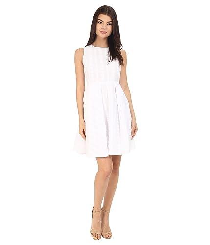 Calvin Klein Women's Sleeveless Fit & Flair Dress CD6G4R9A