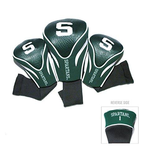 Team Golf USA Michigan State University Spartans 3 Pack Contour Headcover (Team ()
