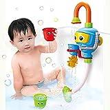 Baby Bath Shower Toys, Diver Spray Toys Spray Station Bathtub Toy - NO Batteries No Power Need