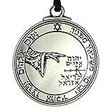Pentacle of the Moon Talisman Key of Solomon Seal Pendant Hermetic Enochian Kabbalah Pagan Wiccan Jewelry