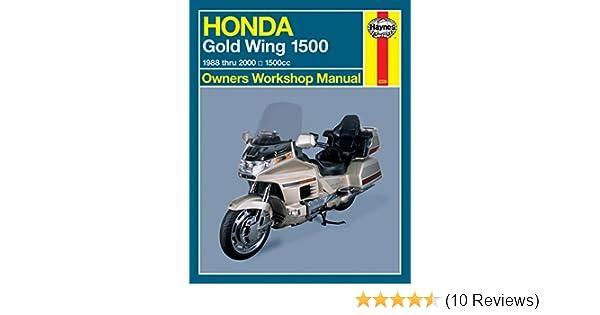 amazon com 90 00 honda gl1500se haynes repair manual misc rh amazon com Honda Owners Manuals PDF 2009 Honda Civic Repair Manual