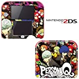 Persona Q: Shawdow of the Labyrinth Decorative Video Game Decal Cover Skin Protector for Nintendo 2Ds