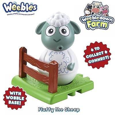 Weebledon Farm Stehaufmännchen - Fluffy das Schaf [UK Import] Character