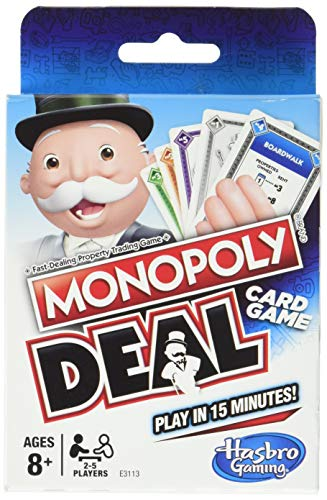 Monopoly Deal is a favorite Easter basket filler for teenagers