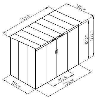 gartenhaus metall vergleich tests ratgeber auf. Black Bedroom Furniture Sets. Home Design Ideas