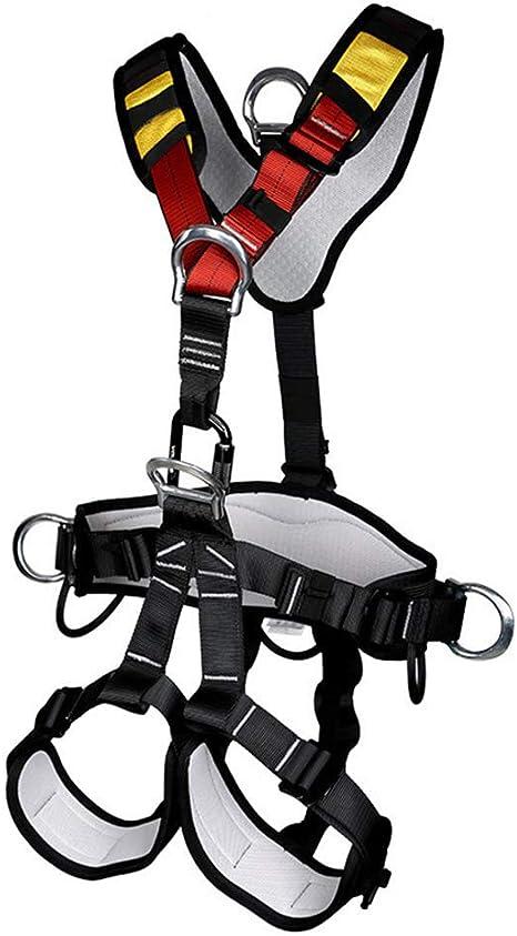 Arnés de cinturón de seguridad de cuerpo completo Escalada ...