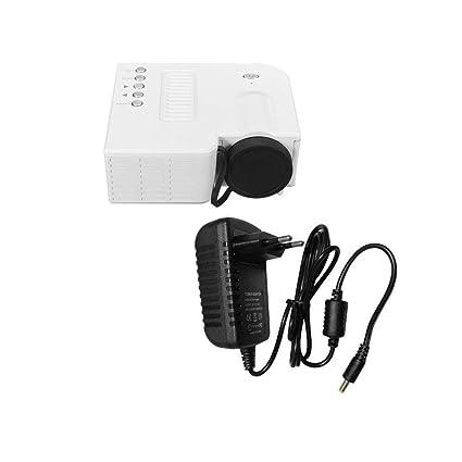 UC28B mini portátil LED proyector 1080P Multimedia Familia Cine de ...