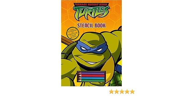 Teenage Mutant Ninja Turtles Stencil Book by n/a (2004-11-30 ...