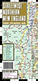 img - for Streetwise Northern New England Map - Laminated Area Road Map of Northern New England book / textbook / text book