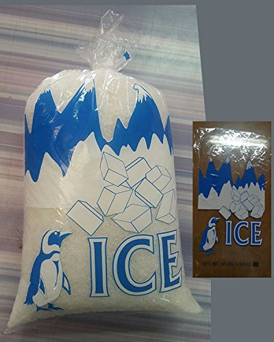 Ice Bags with Twist Ties, 12