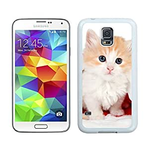 Popular Sell Christmas Cat White Samsung Galaxy S5 Case 20