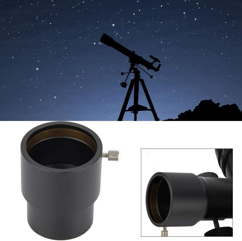 Durable Telescope Eyepiece 40mm Extension Tube M48 Thread Adapter in Aluminum Vbestlife 2inch Telescope Extensione Eyepiece