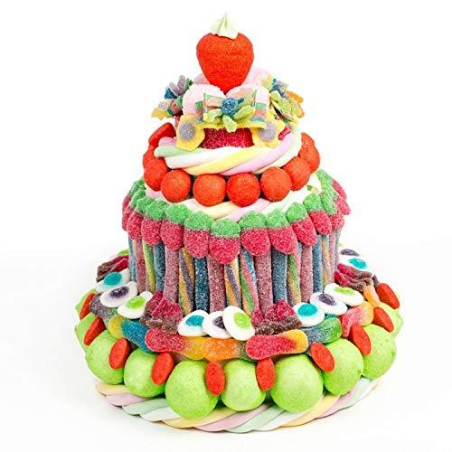 Tartas cumpleaños golosinas y chuches originales