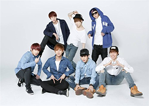 Fanstown BTS bangtan boys Poster A3 size thicken coated paper good quality